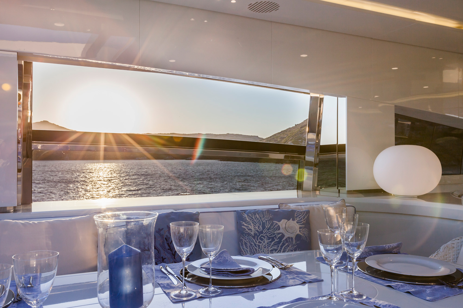 Finestre e oblò - Finestre scorrevoli - Ketos Yacht Rossi Navi