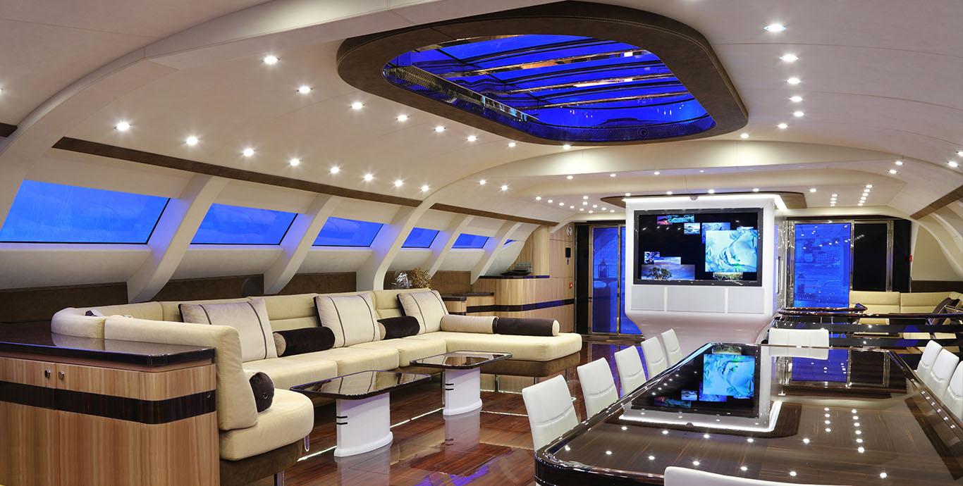 Automazioni Speciali - Grandi aperture - Mono yacht Galaxy of Happiness Latitude Yachts