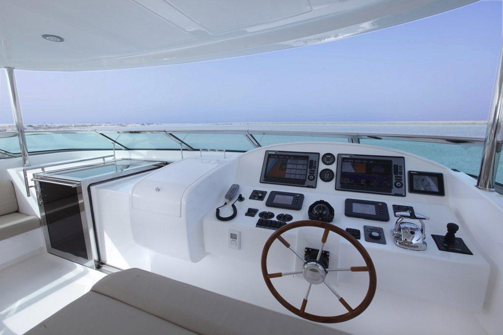 Porte Esterne - Porte Tambuccio - Gulf Craft Majesty Super Yachts