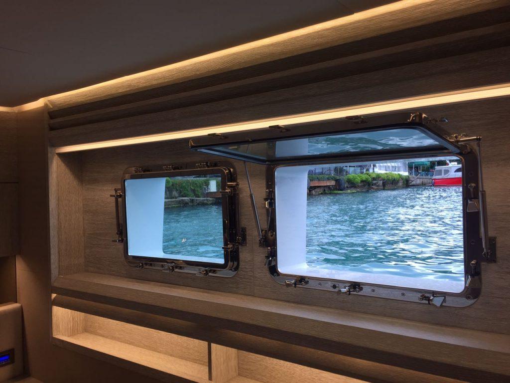 Numarine xp 32 - Oblo yacht sopra i 24 metri - Oblò rettangolari
