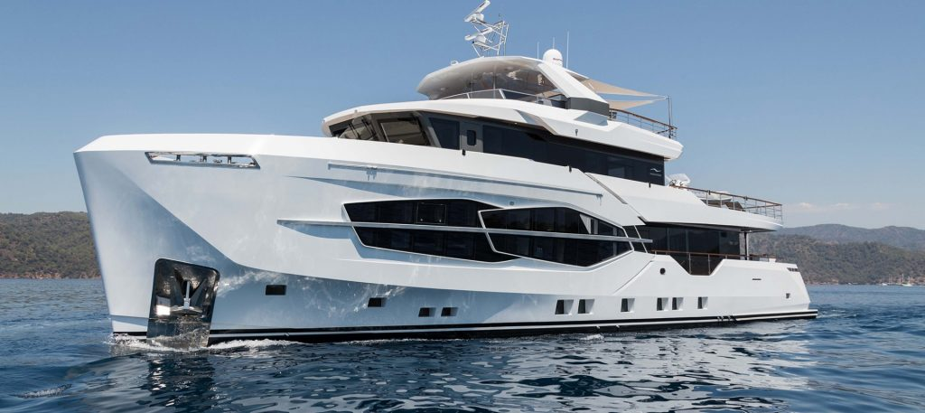 Numarine 32 explorer yacht - Oblò sopra i 24 metri